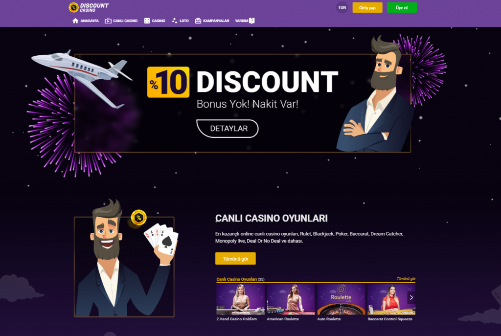 Discount Casino Giriş